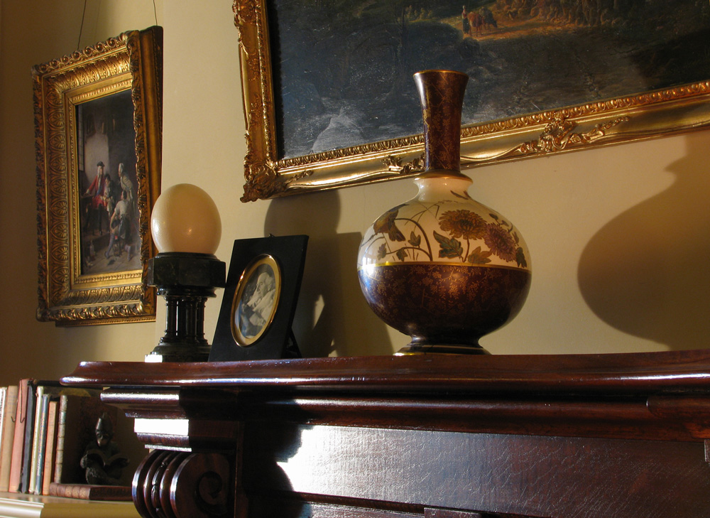 Willem de Klerk, dutch master, victorian mantle, antiques, picture hanging, phil kininmonth, hang in with Phil